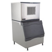 Scotsman C0330SA-1D Prodigy Series 30 inch Air Cooled Small Cube Ice Machine with Bin - 400 lb.