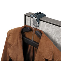 Fellowes 7501101 Pro Series Partitions Additions Slate Gray Coat and Hook Clip - 1 5/8 inch x 2 3/4 inch x 3 inch