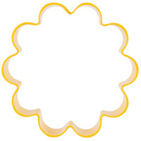 Wilton 2308-1306 3 inch Metal Flower Cookie Cutter