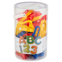 Wilton 2304-1054 50-Piece Plastic ABC 123 Cookie Cutter Set