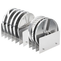 Berkel MPLATE-8PACK Accessory Package with Slicing, Shredding, Dicing, and Julienne Plates