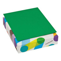 Mohawk 104083 BriteHue 8 1/2 inch x 11 inch Green Ream of 24# Multipurpose Colored Paper - 500/Sheets