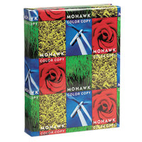 Mohawk 12203 Fine 8 1/2 inch x 11 inch Bright White 28# Copy Paper - 500 Sheets/Pack
