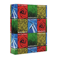 Mohawk 54301 Fine 8 1/2 inch x 11 inch White 28# 100% Recycled Copy Paper - 500/Sheets