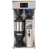 Curtis G4CBHT Dual 3 or 1.5 Gallon Combination Tea / Coffee Brewer - 220V