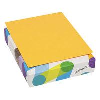 Mohawk 101329 BriteHue 8 1/2 inch x 11 inch Ultra Orange Ream of 20# Multipurpose Colored Paper - 500/Sheets