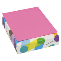 Mohawk 185201 BriteHue 8 1/2 inch x 11 inch Ultra Fuchsia Ream of 20# Multipurpose Colored Paper - 500/Sheets