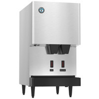 Hoshizaki DCM-270BAH-OS Opti-Serve Countertop Ice Maker and Water Dispenser - 8.8 lb. Storage Air Cooled