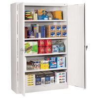 Tennsco J1878SULGY 48 inch x 18 inch x 78 inch Light Gray Jumbo Storage Cabinet