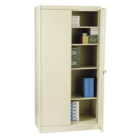 Tennsco 1470PY High Standard 36 inch x 18 inch x 72 inch Putty Storage Cabinet