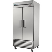 True TS-35F-HC 40 inch Stainless Steel Solid Door Reach-In Freezer