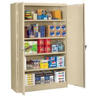 Tennsco J2478SULGY 48 inch x 24 inch x 78 inch Light Gray Jumbo Storage Cabinet