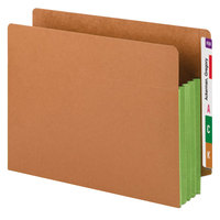 Smead 73680 Letter Size Extra Wide File Pocket - 10/Box
