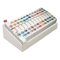 Smead 67070 Assorted A-Z Style End Tab Label