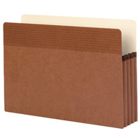 Smead 73210 Easy Grip Legal Size File Pocket - 25/Box