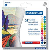 Staedtler 2420C24A6 24-Color Assorted Oil Pastel Set