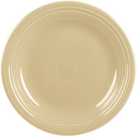 Homer Laughlin 466330 Fiesta Ivory 10 1/2 inch Plate - 12/Case