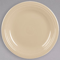 Homer Laughlin 466330 Fiesta Ivory 10 1/2 inch Round China Dinner Plate - 12/Case