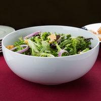 CAC MXS-11 5 Qt. Bright White Porcelain Salad Bowl - 6/Case
