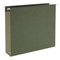Smead 65090 Letter Size 100% Recycled Box Bottom Hanging File Folder - 25/Box