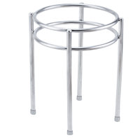 Clipper Mill by GET IRS-08 Boulevard Stainless Steel Round Riser with Brushed Finish - 7 inch x 9 inch