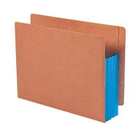 Smead 73689 Letter Size Extra Wide File Pocket - 10/Box