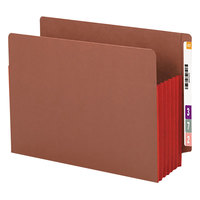 Smead 73696 Letter Size Extra Wide File Pocket - 10/Box
