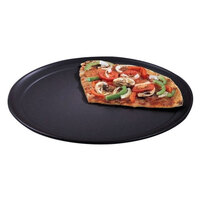 American Metalcraft HCTP7 7 inch Wide Rim Pizza Pan - Hard Coat Anodized Aluminum