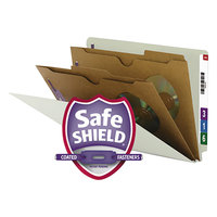 Smead 29710 SafeSHIELD Legal Size Classification Folder - 10/Box