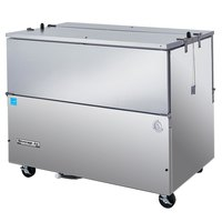 Beverage-Air SM49N-S 49 1/2 inch Stainless Steel 1-Sided Cold Wall Milk Cooler