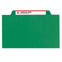 Smead 14097 SafeSHIELD Letter Size Classification Folder - 10/Box