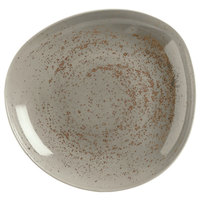 Schonwald 938132863043 Pottery 27 oz. Unique Light Gray Organic Porcelain Bowl - 6/Case