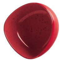 Schonwald 9383163-63046 Pottery 11 oz. Unique Red Organic Porcelain Bowl - 6/Case