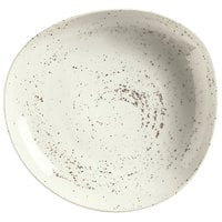 Schonwald 938132870255 Pottery 27 oz. Unique White Organic Porcelain Bowl - 6/Case