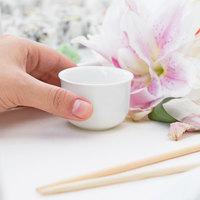 Core 2 oz. Bright White Sake Cup - 12/Pack