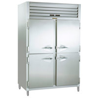 Traulsen RDT232WUT-HHS Stainless Steel 45 Cu. Ft. Two Section Half Door Reach In Refrigerator / Freezer - Specification Line