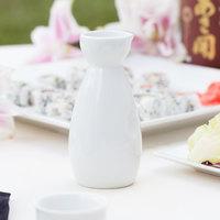 Acopa 6 oz. Bright White Sake Bottle - 48/Case