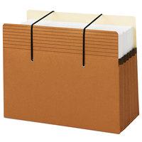 Smead 73222 Easy Grip Letter Size Secure File Pocket - 10/Box
