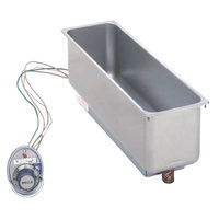 Wells HMP6 Half Size 1 Pan Drop-In Hot Food Well - Top Mount, Thermostat Control