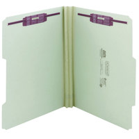 Smead 14982 SafeSHIELD Letter Size Fastener Folder with 2 Fasteners, 2 inch Expansion - 25/Box