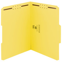 Smead 12942 WaterShed/CutLess Letter Size Fastener Folder with 2 Fasteners - 50/Box