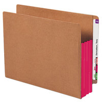Smead 73686 Letter Size Extra Wide File Pocket - 10/Box