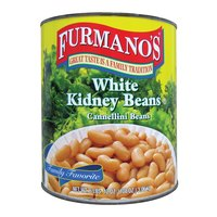 Furmano's White Kidney Beans (Cannellini Beans) #10 Can