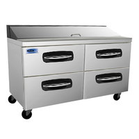 Nor-Lake NLSP60-16-001 AdvantEDGE 60 3/8 inch 4 Drawer Refrigerated Sandwich Prep Table