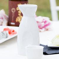 Core 10 oz. Bright White Sake Bottle - 36/Case
