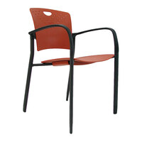 Eurotech STAQGLIDEBRICK Staq Series Brick Plastic Chair with Glides