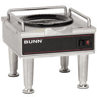 Bunn 12203.0014 RWS1 Coffee Server Warmer with Satin Nickel Legs - 120V