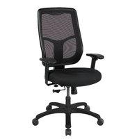 Eurotech MTHB94-5806 Apollo Series Black High Back Swivel Office Chair