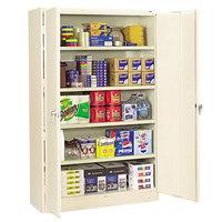 Tennsco J2478SUPY 48 inch x 24 inch x 78 inch Putty Jumbo Storage Cabinet