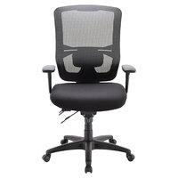 Eurotech MFST5400 Apollo II Series Black High Back Multi-Function Swivel Office Chair